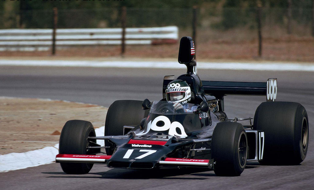 Jean Pierre Jarier South Africa 1975 By F1 History On