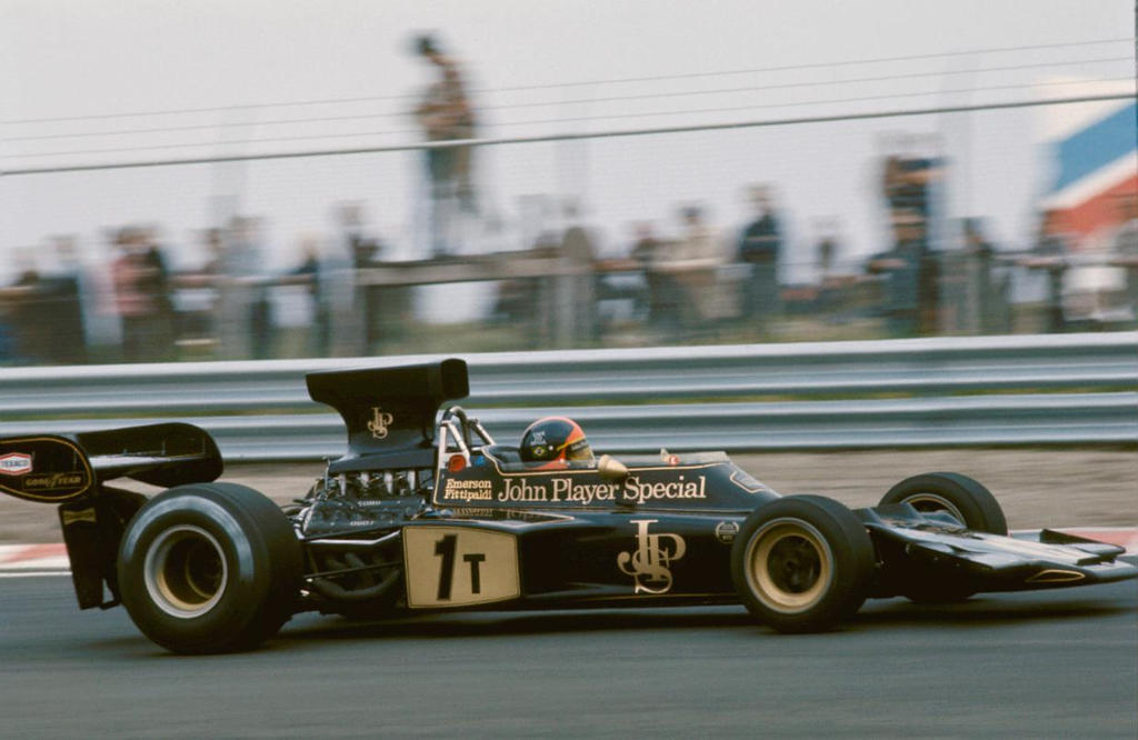 Emerson Fittipaldi (Netherlands 1973) By F1-history On