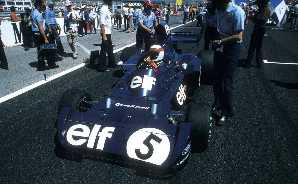 Jackie Stewart (1973) by F1-history