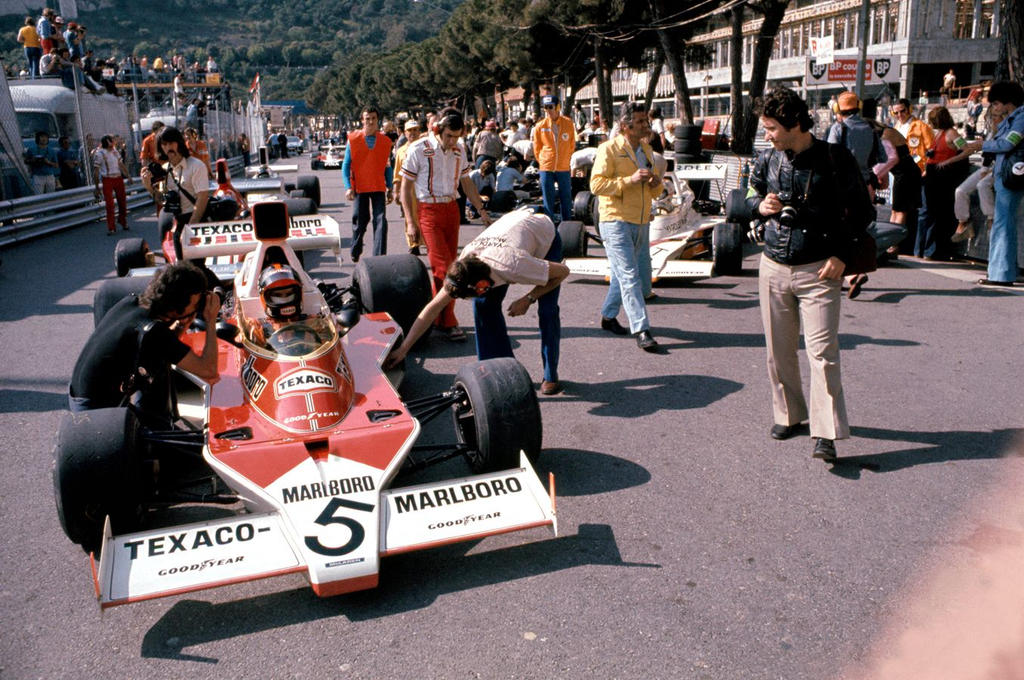 Emerson Fittipaldi (Monaco 1974) by F1-history