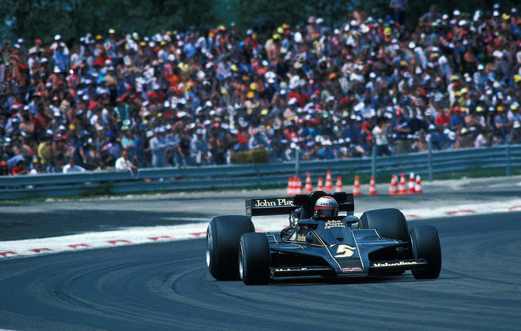 Mario Andretti (France 1977) by F1-history