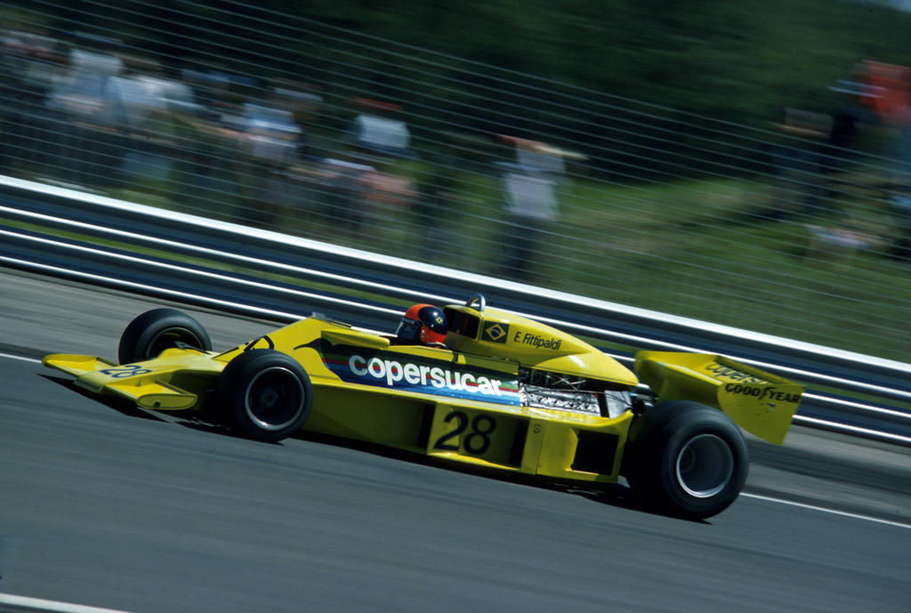 Emerson Fittipaldi (France 1977) by F1-history