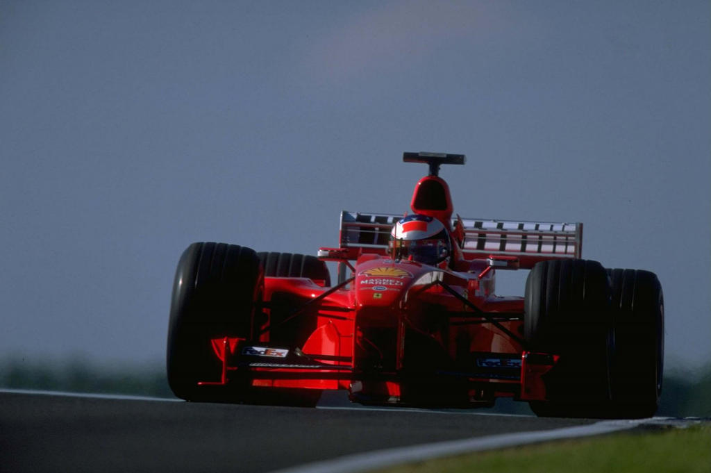 Michael schumacher ferrari f1 wallpaper
