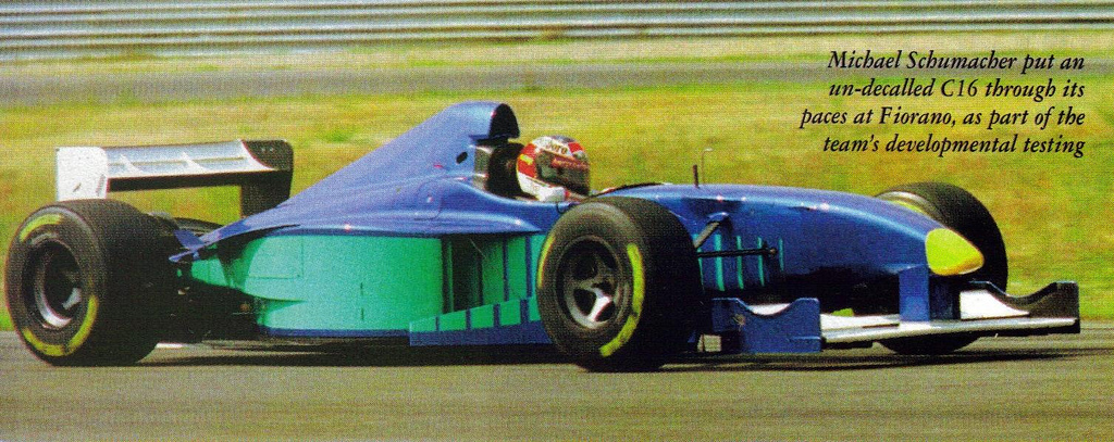 Michael Schumacher (Italy Test 1997) by F1-history