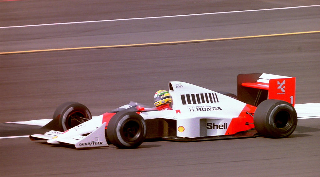 Wallpaper f1 ayrton senna