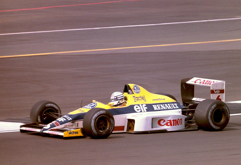 Riccardo Patrese (Great Britain 1989) by F1-history