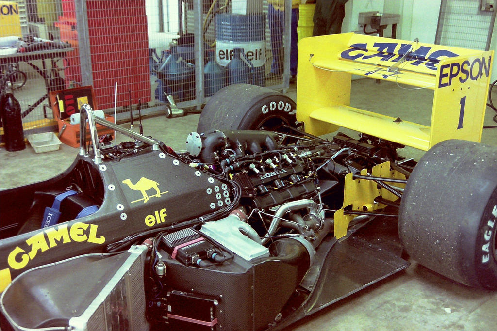 Lotus 100T (Great Britain Tyre Test 1988) by F1-history