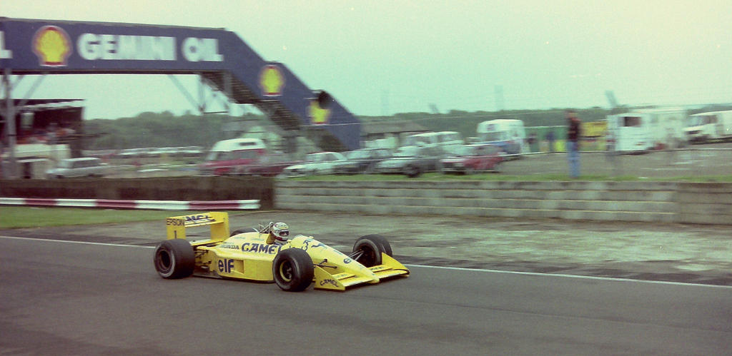 Nelson Piquet (Great Britain Tyre Test 1988) by F1-history