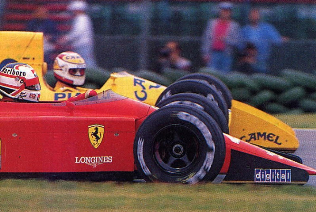 Nigel Mansell Nelson Piquet 1989 By F1 History On