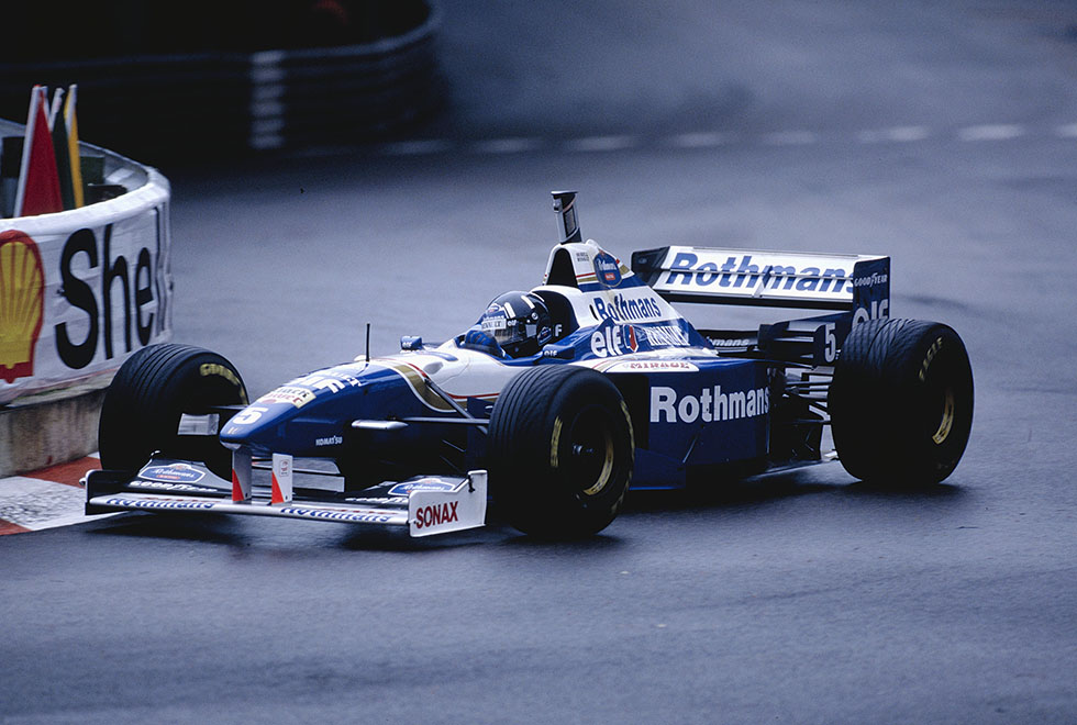 Damon Hill (Monaco 1996) by F1-history