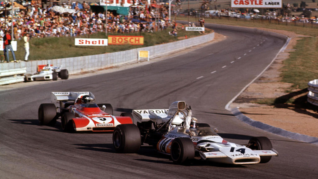 P Revson J Ickx South Africa 1972 By F1 History On