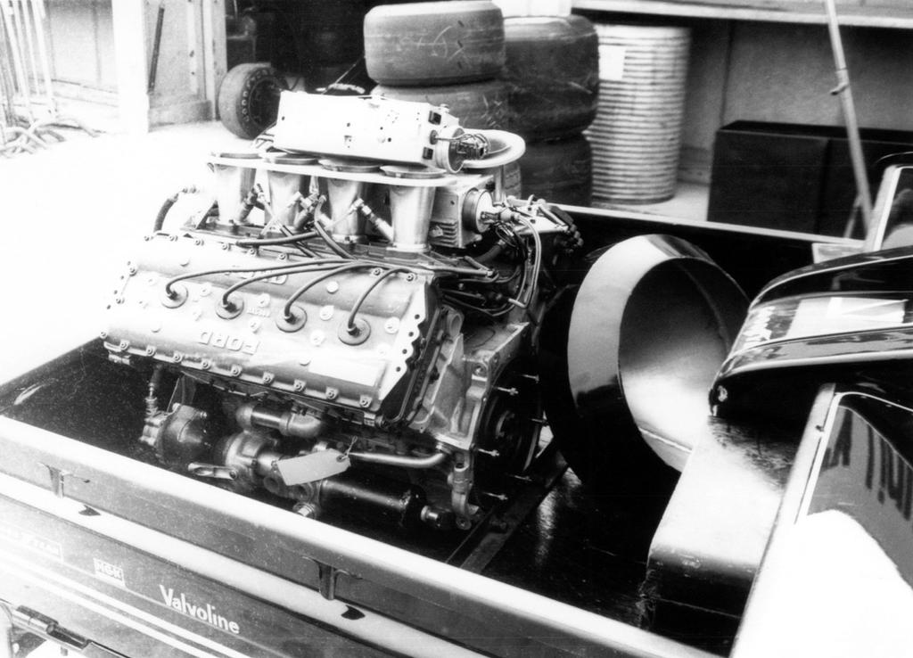Ford-Cosworth DFV (Great Britain 1978) by F1-history on