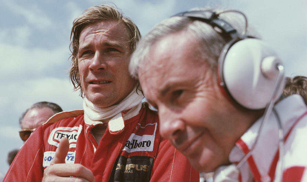 James Hunt | Teddy Mayer (Great Britain 1978) by F1-history