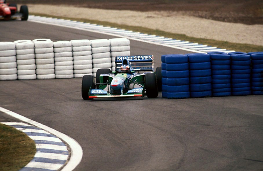 Michael Schumacher (Spain 1994) by F1-history