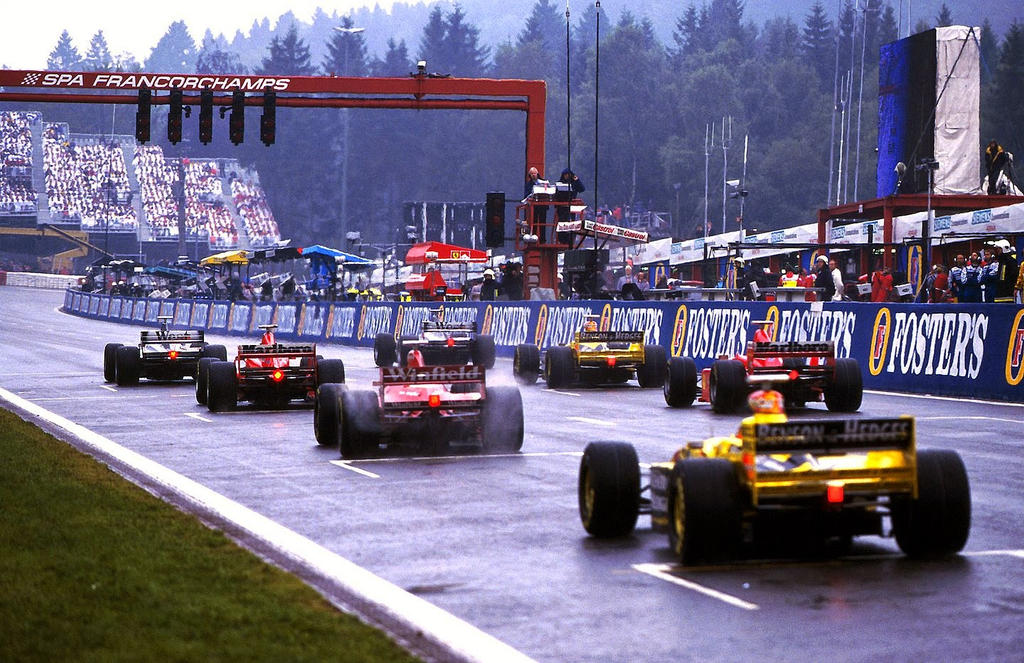 1998 belgian grand prix start by f1 history on deviantart. Black Bedroom Furniture Sets. Home Design Ideas
