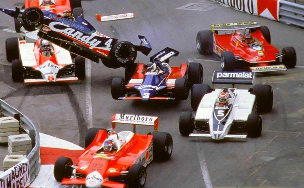 1980 Monaco Grand Prix Start By F1 History On Deviantart