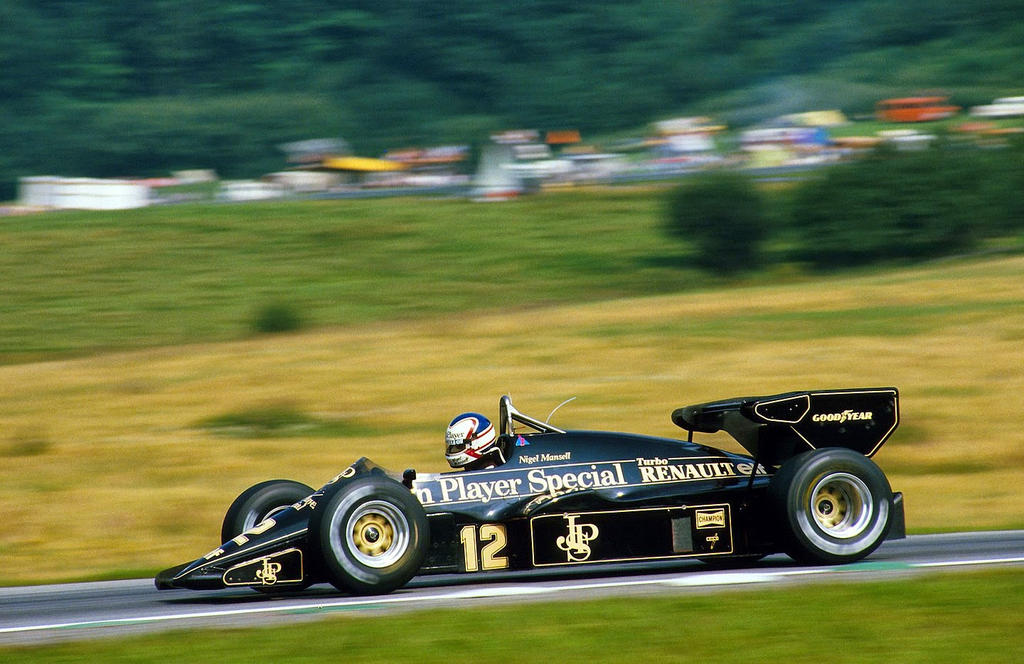 Nigel Mansell Austria 1984 By F1 History On Deviantart