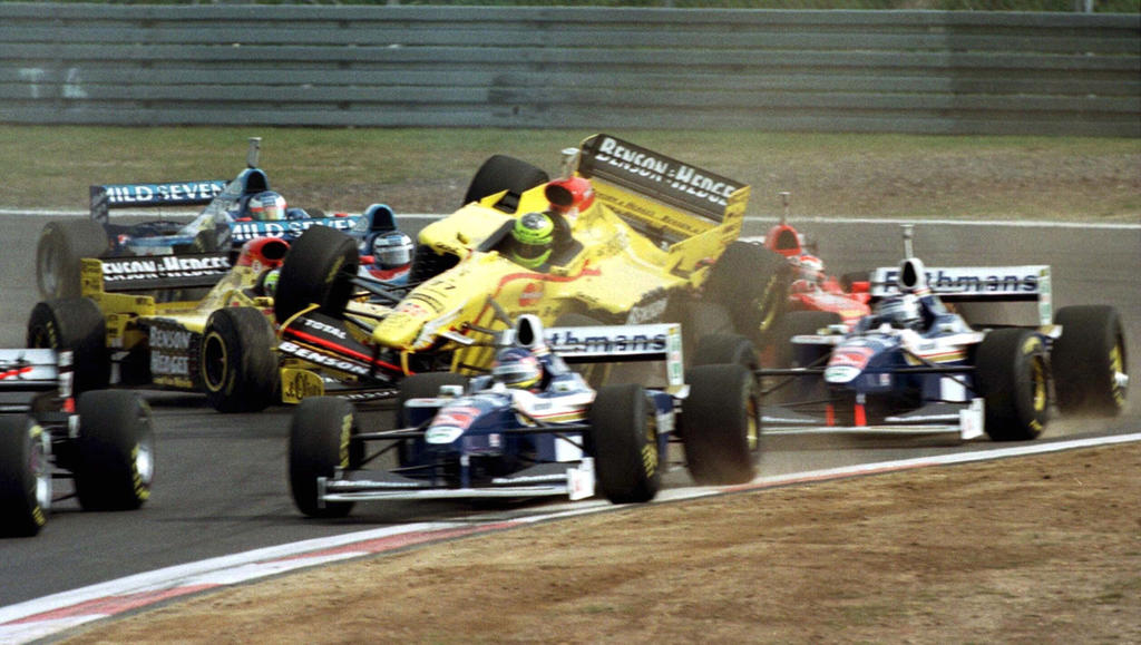 1997 Luxembourg Grand Prix By F1 History On Deviantart
