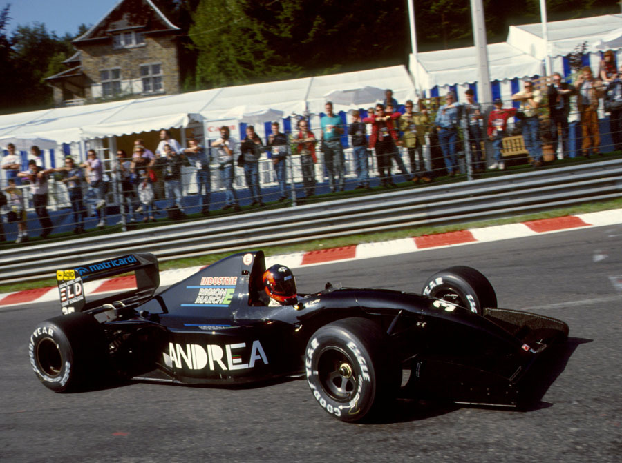 Perry Mccarthy Belgium 1992 By F1 History On Deviantart