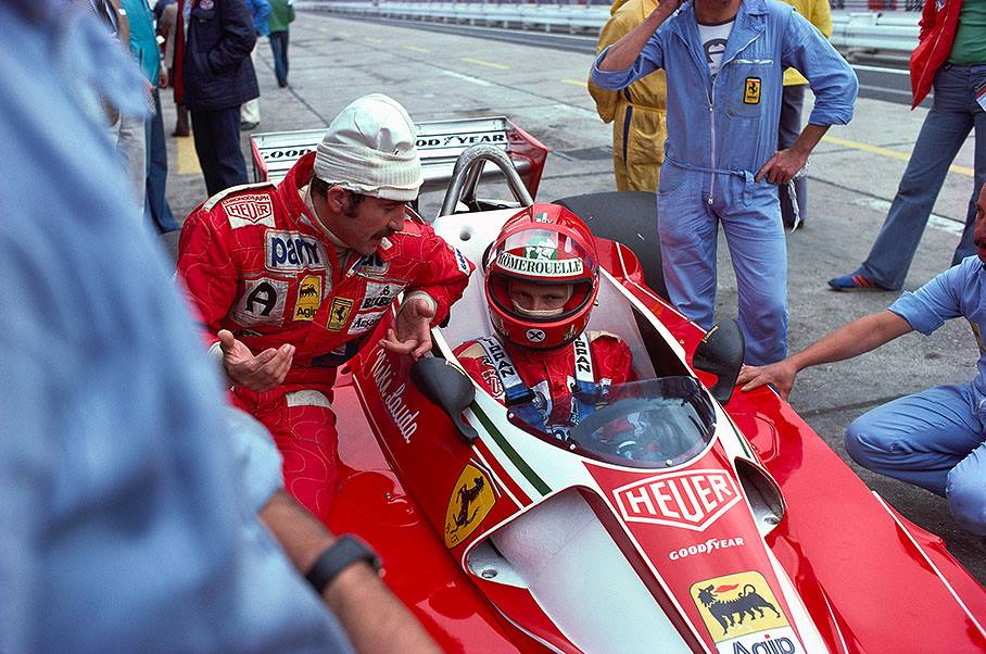 Clay Regazzoni Niki Lauda Germany 1976 By F1 History