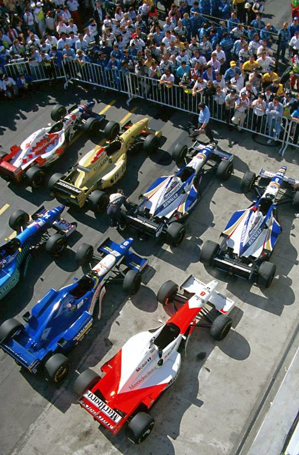 1996 Argentine Grand Prix Parc Ferme By F1 History On