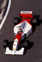 Michael Andretti (France 1993) by F1-history