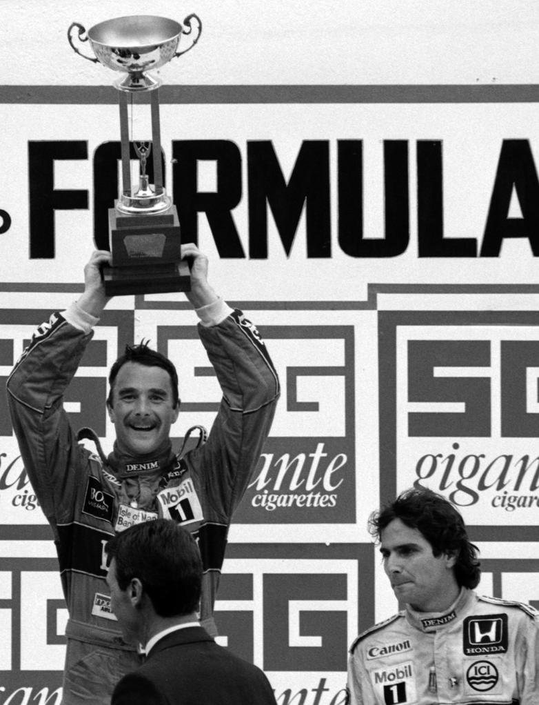 Nigel Mansell | Nelson Piquet (Portugal 1986) by F1-history