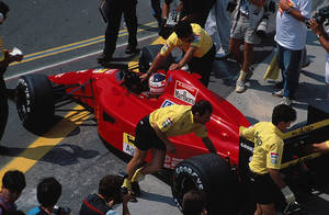 Nigel Mansell (Hungary 1990) by F1-history