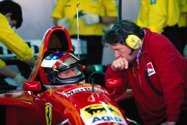 M. Schumacher | J. Barnard (Portugal Test 1995)