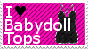 Babydoll Top Stamp by Dolly-Boo