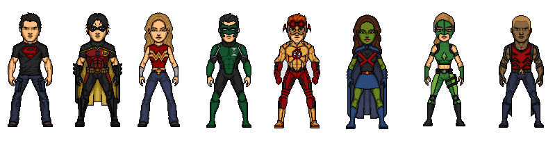 Young Justice By Rated R4 Ryan On Deviantart