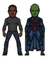 The Martian Manhunter by Rated-R4-Ryan