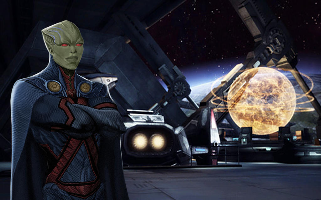 Martian Manhunter Wallpaper by Rated-R4-Ryan