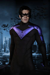 Nightwing Poster (Steven McQueen) by Rated-R4-Ryan