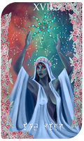 Daedra Tarot Cards - Azura, The Star