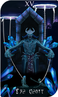 Daedra Tarot Cards - Molag Bal, The Devil