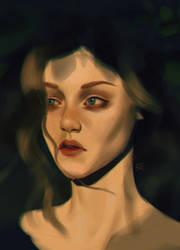 Portrait study #1 by AredheelMahariel