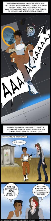 Comic - Aperture Science