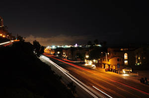 Light Trails on PCH by RaithSands