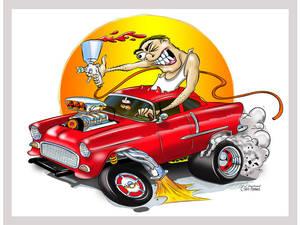 55-Chevy-Cartoon
