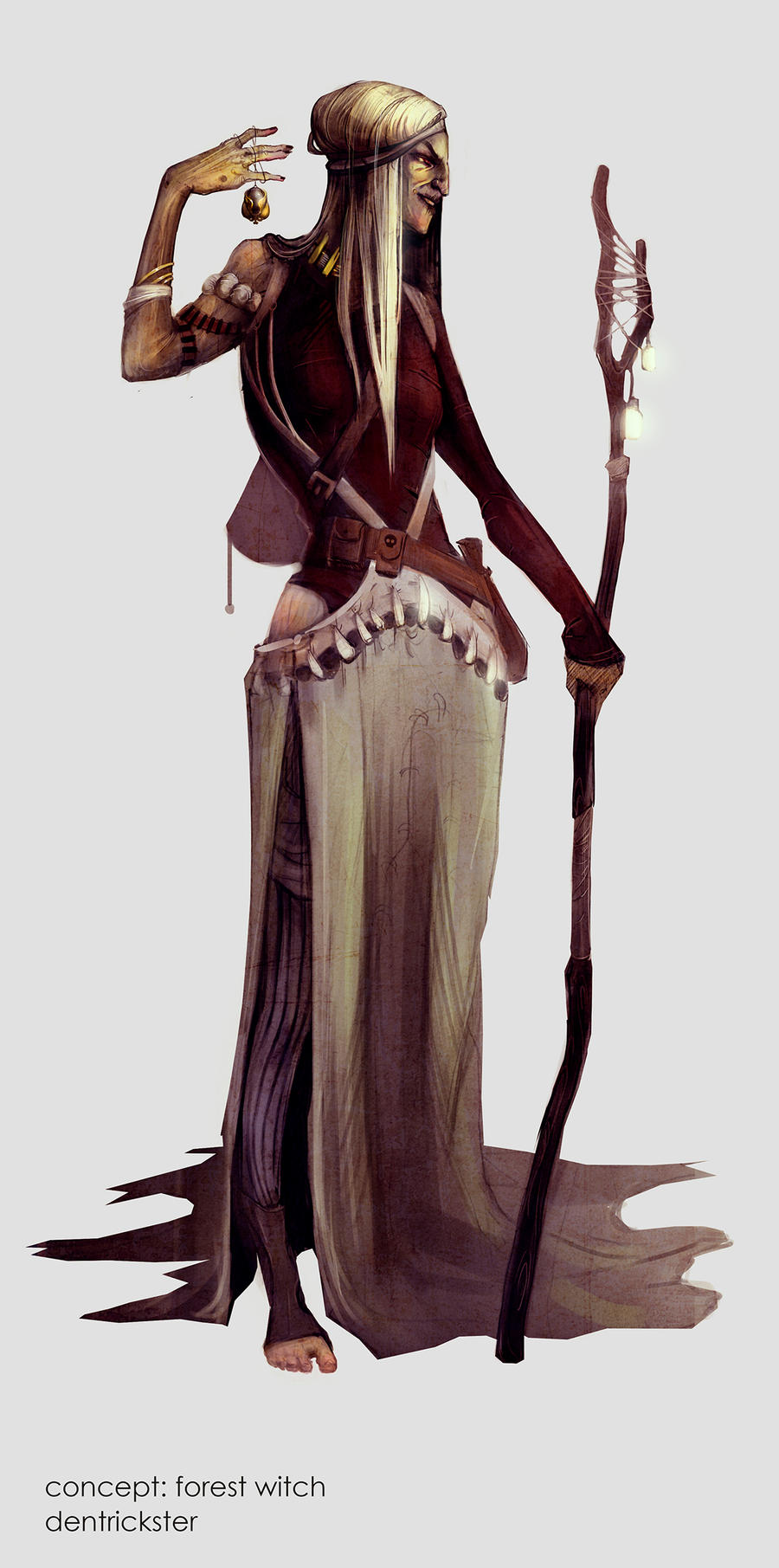 Concept Forest Witch By Dentrickster On Deviantart