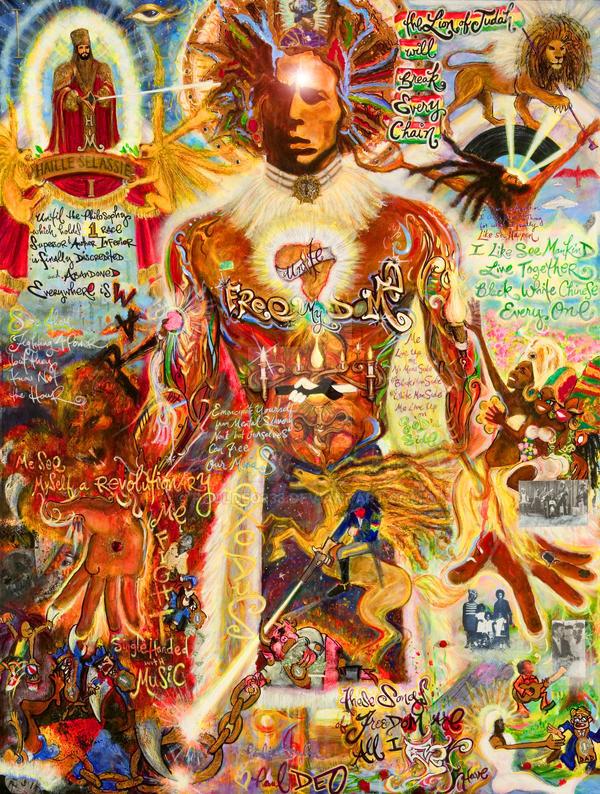 'Bob Marley' by PaulDEO333