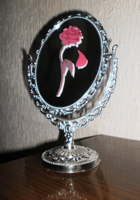 Enchanted rose and Enchanted mirror by EnchantedBlueRose