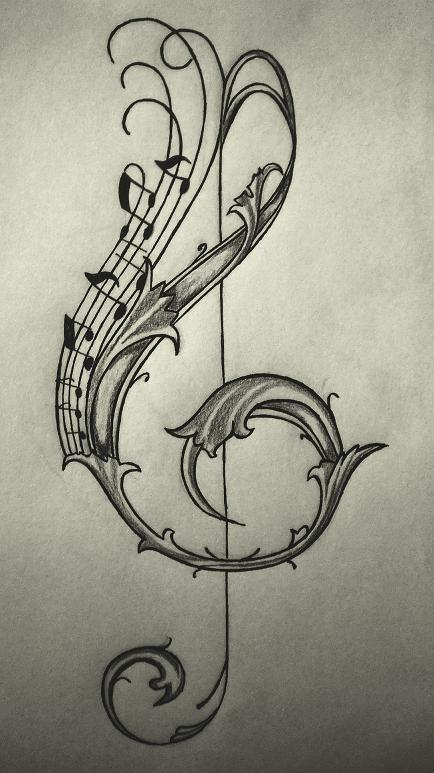 Top Violin Key Giveaway Tattoo Tattoos In Lists For Pinterest