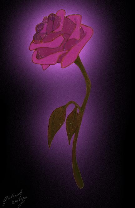 Enchanted Rose Drawing: ENCHANTED ROSE By EnchantedBlueRose On DeviantArt