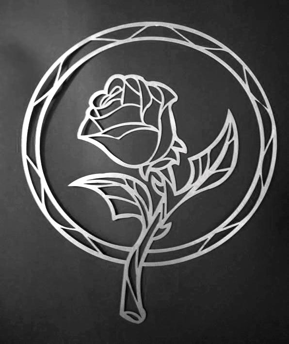 White Rose Last Petal Falls