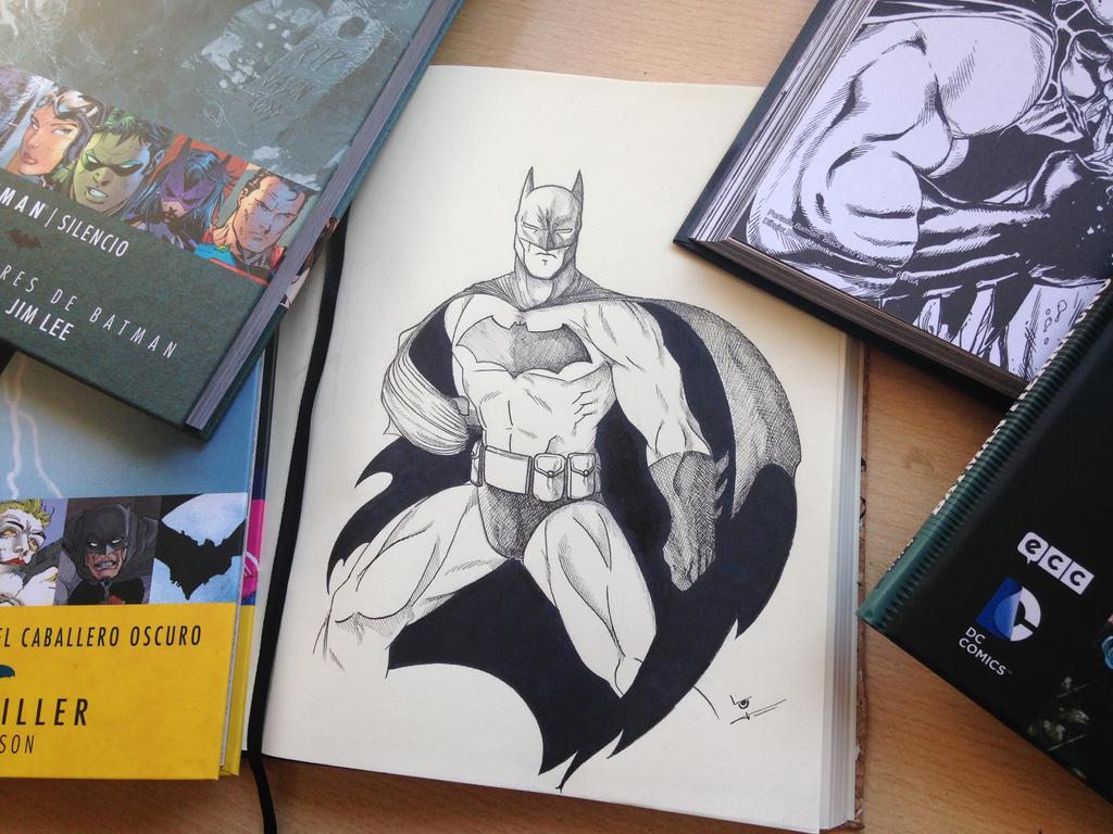 The Dark Knight himself by ICHETE