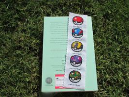 Pokeballs (Gen 1) Cross-Stitch Bookmark by DaydreamQueenMisha
