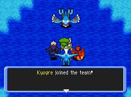 Recruiting Kyogre by alfier15000