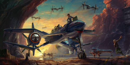 X-wing WWII